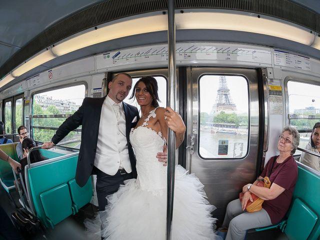 Le mariage de Adelio et Asline à Versailles, Yvelines 23