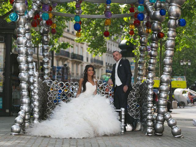 Le mariage de Adelio et Asline à Versailles, Yvelines 26
