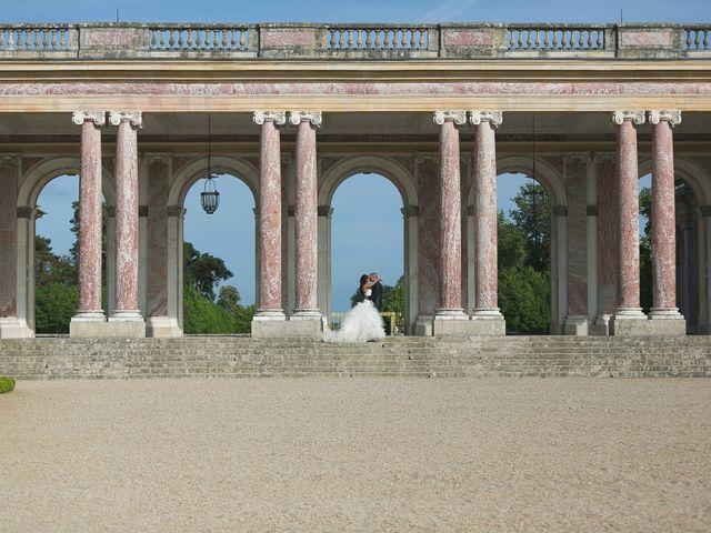 Le mariage de Adelio et Asline à Versailles, Yvelines 4