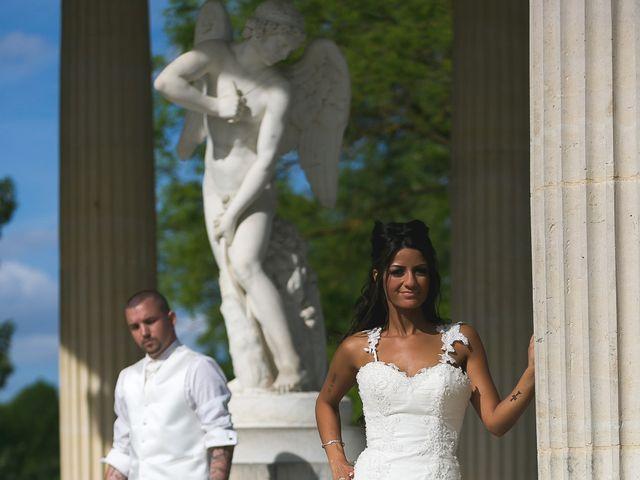 Le mariage de Adelio et Asline à Versailles, Yvelines 8