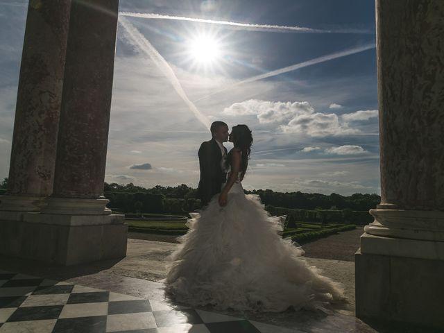 Le mariage de Adelio et Asline à Versailles, Yvelines 3