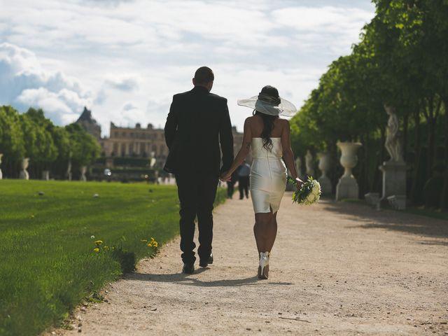 Le mariage de Adelio et Asline à Versailles, Yvelines 38