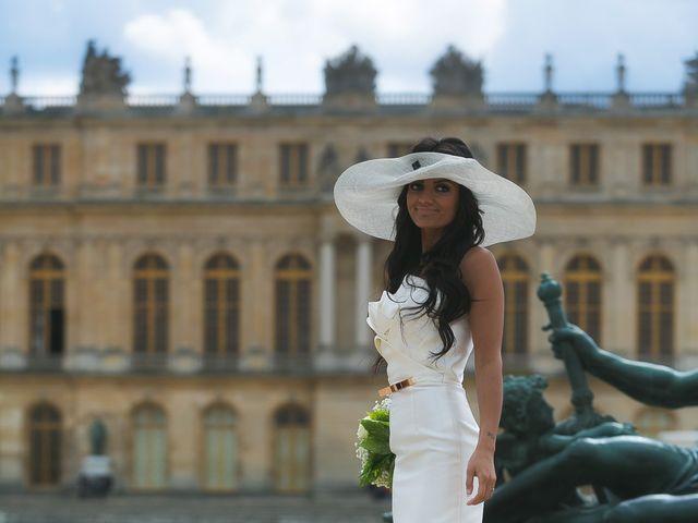 Le mariage de Adelio et Asline à Versailles, Yvelines 39