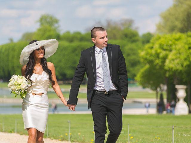 Le mariage de Adelio et Asline à Versailles, Yvelines 43