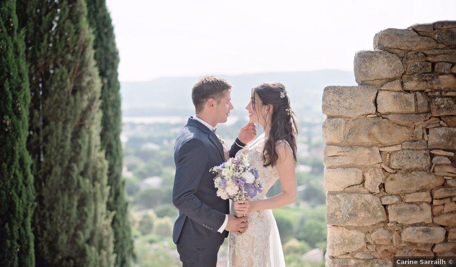 Le mariage de Nicolas et Sonya à Vénéjan, Gard