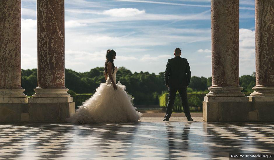 Le mariage de Adelio et Asline à Versailles, Yvelines