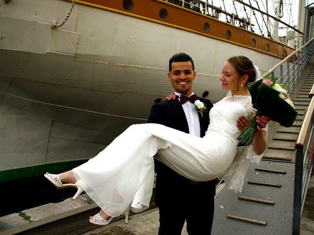 Le mariage de Marine et Mohamed