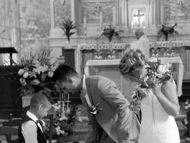 Le mariage de Jonathan et Prescilla à Teuillac, Gironde 4
