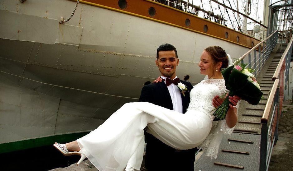 Le mariage de Mohamed et Marine à Dunkerque, Nord