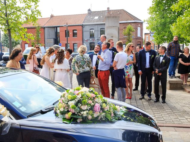 Le mariage de Jefferson et Aurore à Neuville-en-Ferrain, Nord 62