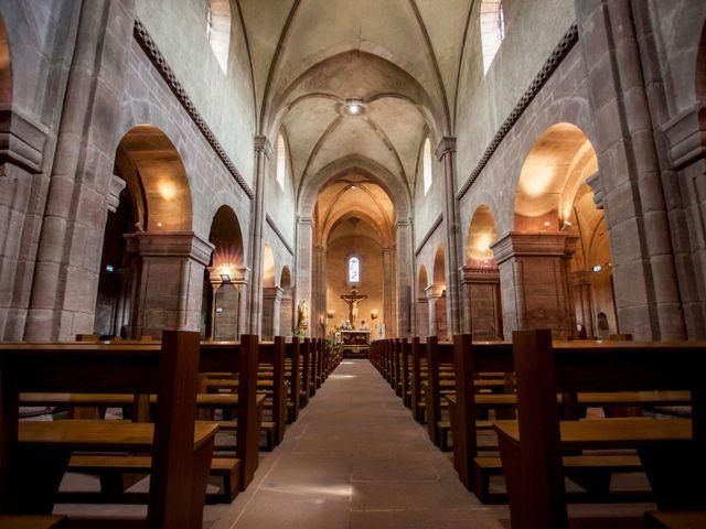 Le mariage de Caroline et Gabriel à Kintzheim, Bas Rhin 3