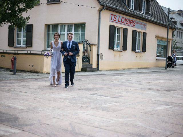 Le mariage de Caroline et Gabriel à Kintzheim, Bas Rhin 11