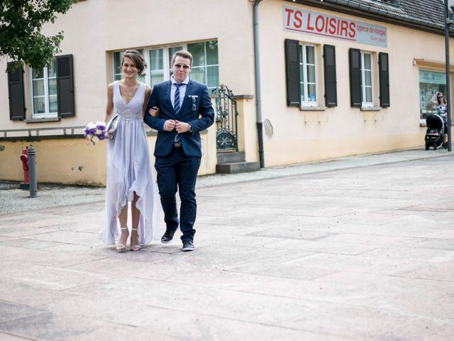 Le mariage de Caroline et Gabriel à Kintzheim, Bas Rhin 12