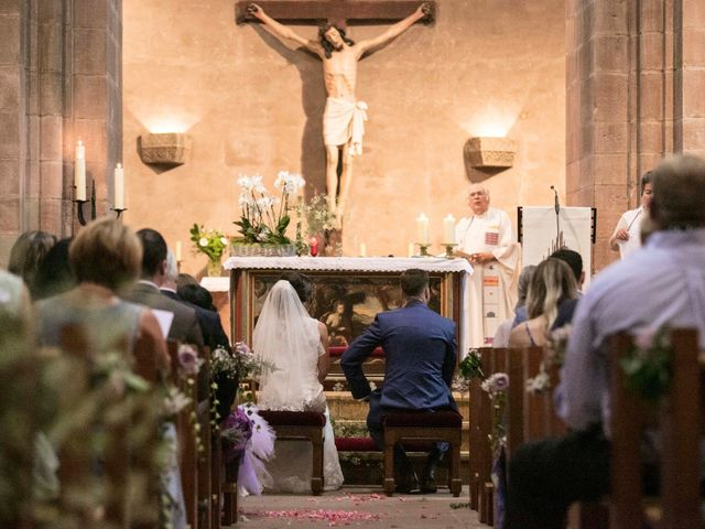 Le mariage de Caroline et Gabriel à Kintzheim, Bas Rhin 39