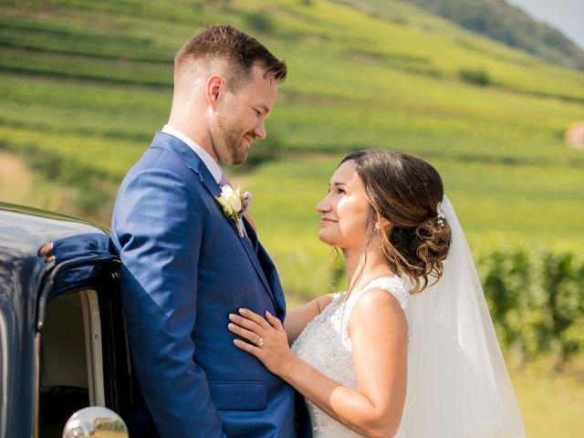 Le mariage de Caroline et Gabriel à Kintzheim, Bas Rhin 76