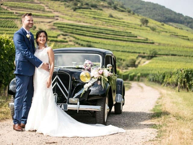 Le mariage de Caroline et Gabriel à Kintzheim, Bas Rhin 80