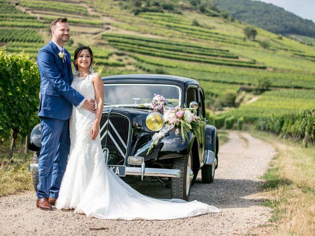 Le mariage de Caroline et Gabriel à Kintzheim, Bas Rhin 81