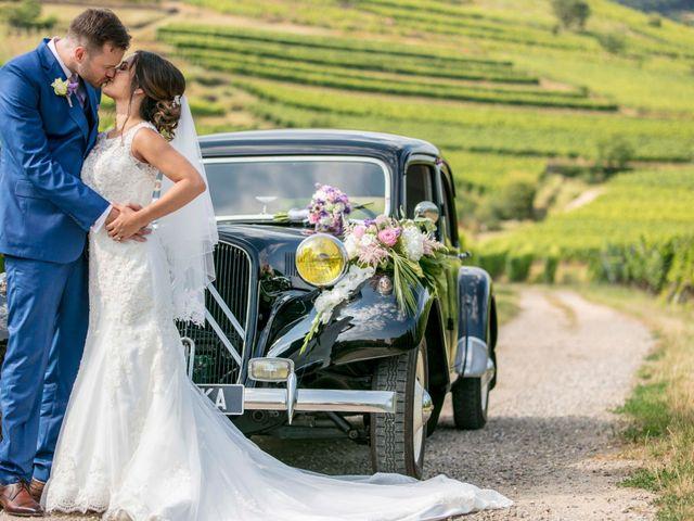 Le mariage de Caroline et Gabriel à Kintzheim, Bas Rhin 84