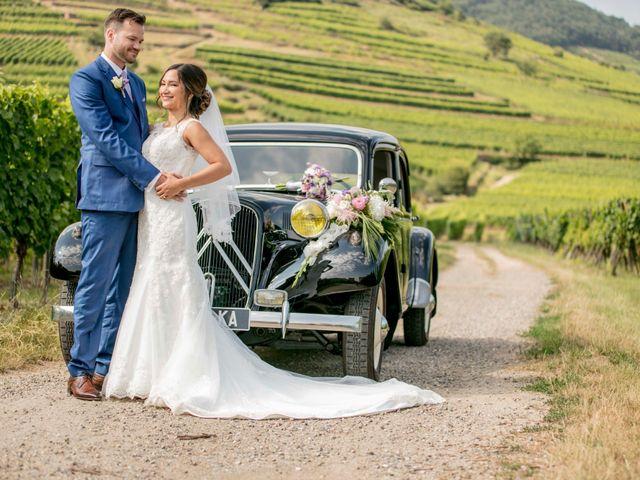 Le mariage de Caroline et Gabriel à Kintzheim, Bas Rhin 85