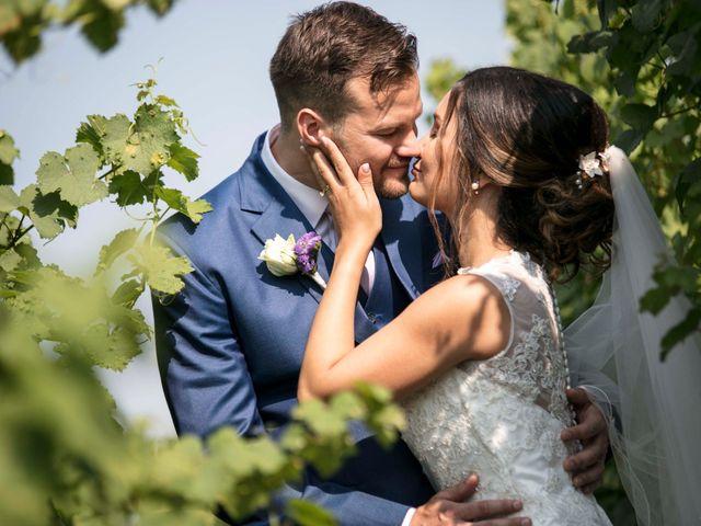 Le mariage de Caroline et Gabriel à Kintzheim, Bas Rhin 90