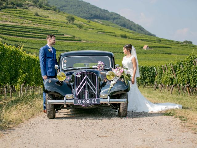 Le mariage de Caroline et Gabriel à Kintzheim, Bas Rhin 96