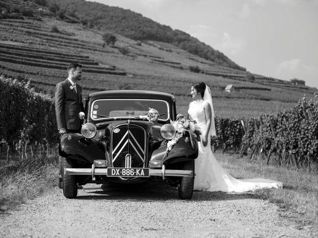 Le mariage de Caroline et Gabriel à Kintzheim, Bas Rhin 97