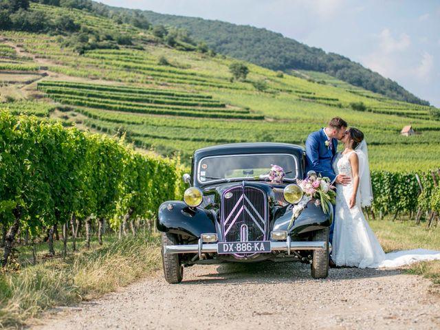 Le mariage de Caroline et Gabriel à Kintzheim, Bas Rhin 98