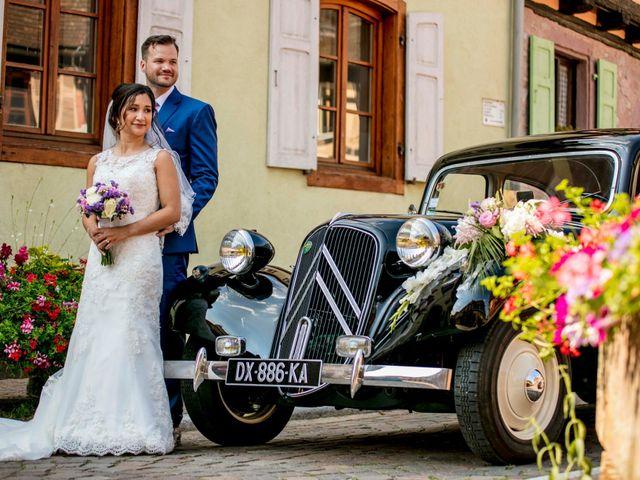 Le mariage de Caroline et Gabriel à Kintzheim, Bas Rhin 106