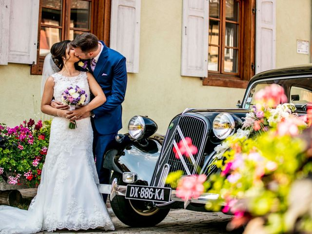 Le mariage de Caroline et Gabriel à Kintzheim, Bas Rhin 107