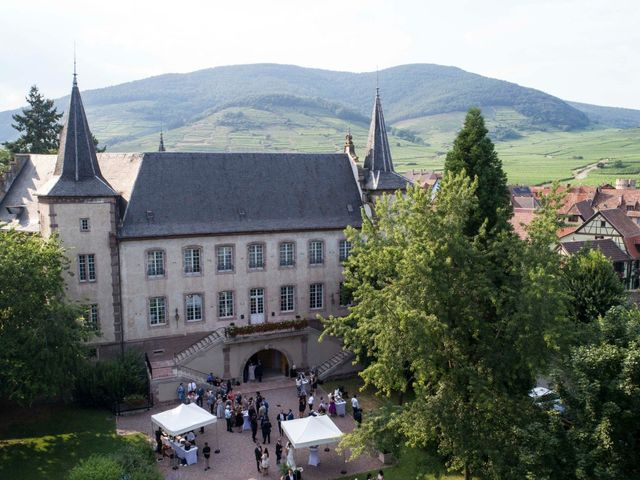Le mariage de Caroline et Gabriel à Kintzheim, Bas Rhin 156