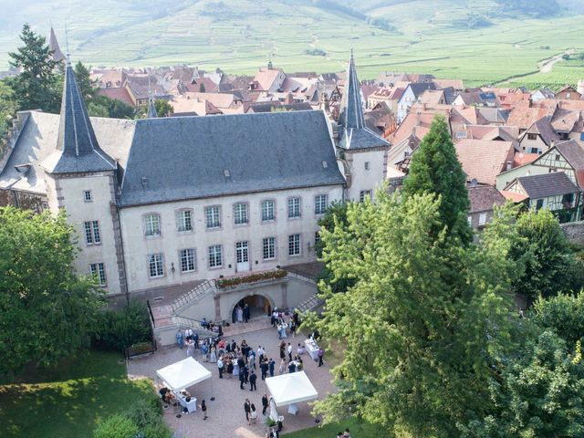 Le mariage de Caroline et Gabriel à Kintzheim, Bas Rhin 157