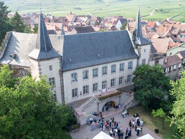 Le mariage de Caroline et Gabriel à Kintzheim, Bas Rhin 158