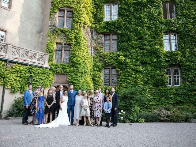 Le mariage de Caroline et Gabriel à Kintzheim, Bas Rhin 164