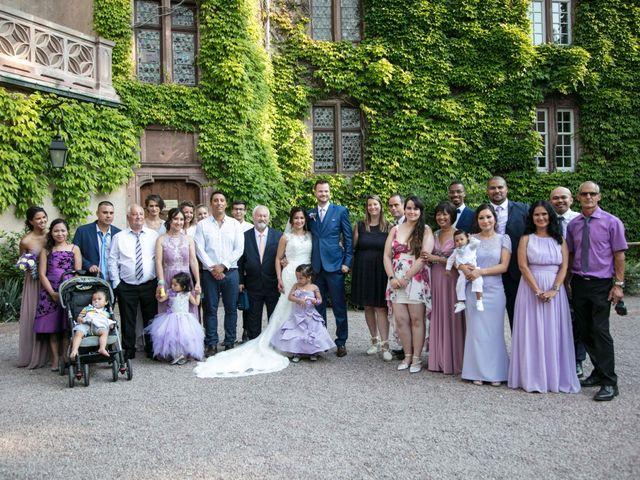 Le mariage de Caroline et Gabriel à Kintzheim, Bas Rhin 169