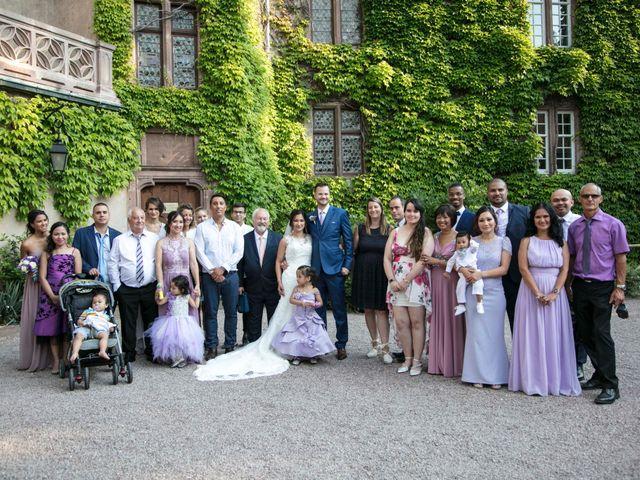 Le mariage de Caroline et Gabriel à Kintzheim, Bas Rhin 170