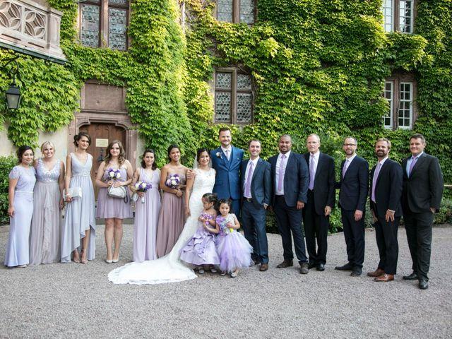Le mariage de Caroline et Gabriel à Kintzheim, Bas Rhin 171