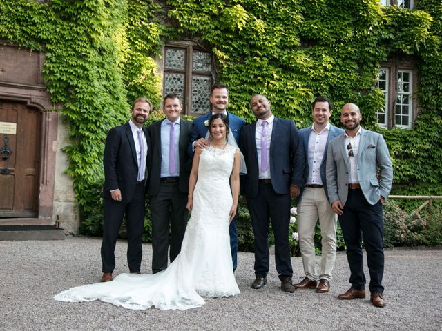 Le mariage de Caroline et Gabriel à Kintzheim, Bas Rhin 173