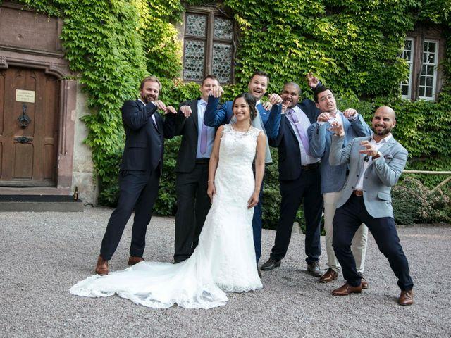 Le mariage de Caroline et Gabriel à Kintzheim, Bas Rhin 176