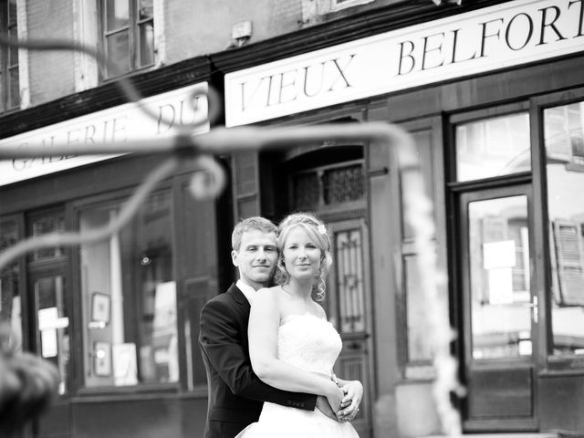 Le mariage de Ludivine et Sébastien à Belfort, Territoire de Belfort 23