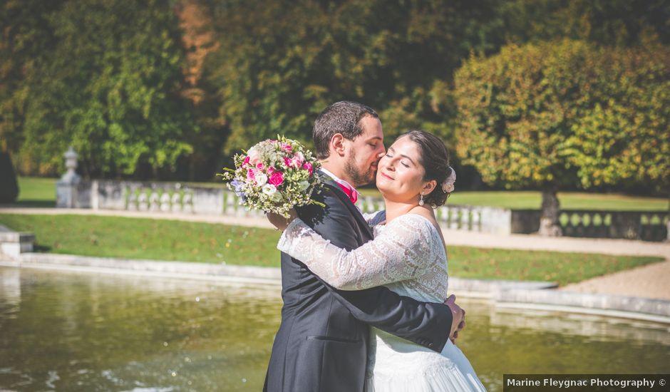 Le mariage de Jean Baptiste et Claire à Bouges-le-Château, Indre