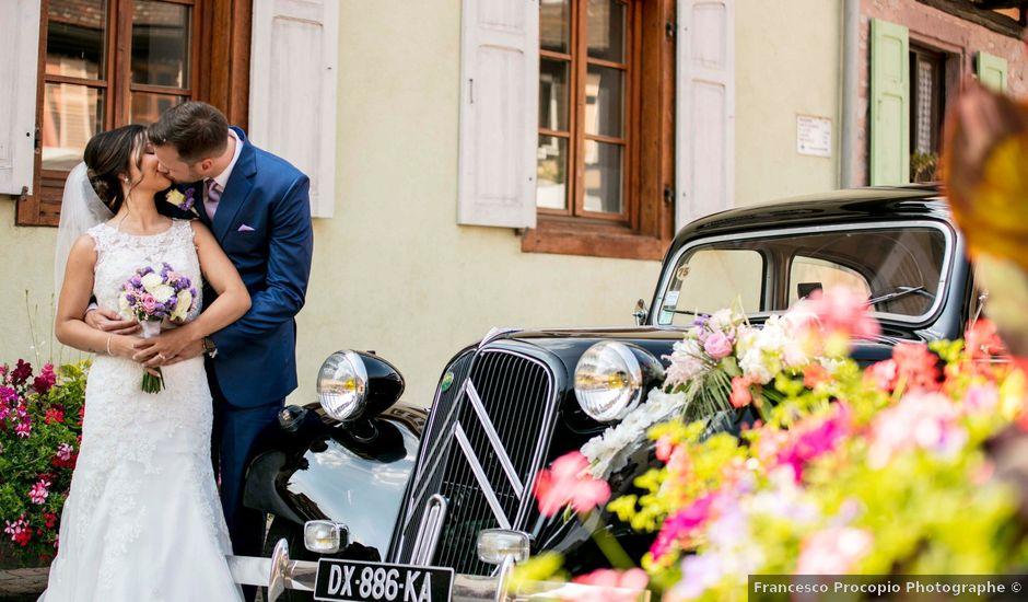 Le mariage de Caroline et Gabriel à Kintzheim, Bas Rhin