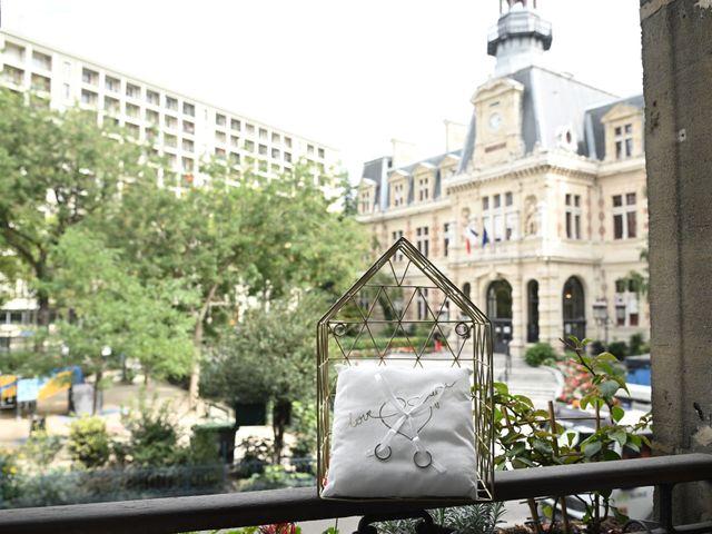 Le mariage de Ziyad et Clémence à Paris, Paris 1