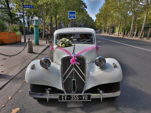 Le mariage de Ziyad et Clémence à Paris, Paris 20