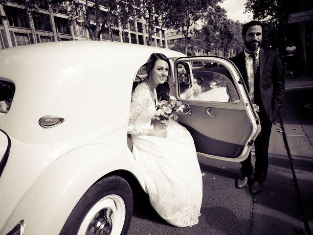 Le mariage de Ziyad et Clémence à Paris, Paris 21