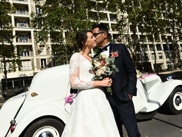 Le mariage de Ziyad et Clémence à Paris, Paris 22