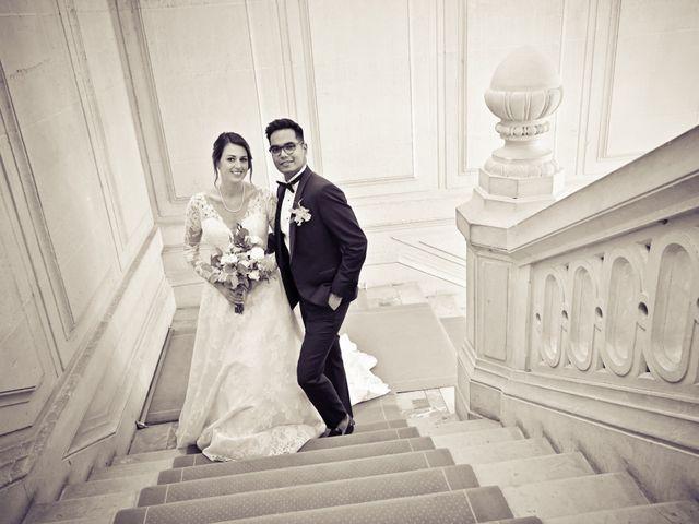 Le mariage de Ziyad et Clémence à Paris, Paris 30