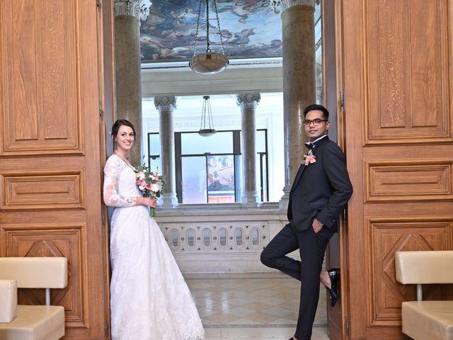 Le mariage de Ziyad et Clémence à Paris, Paris 31