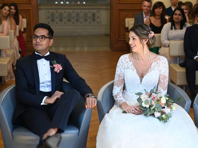 Le mariage de Ziyad et Clémence à Paris, Paris 33