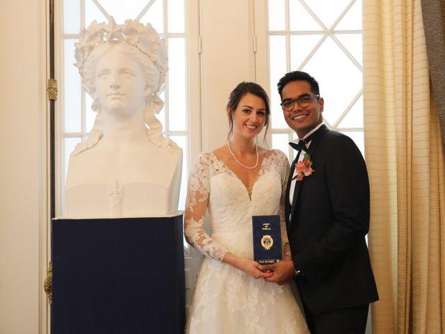 Le mariage de Ziyad et Clémence à Paris, Paris 34