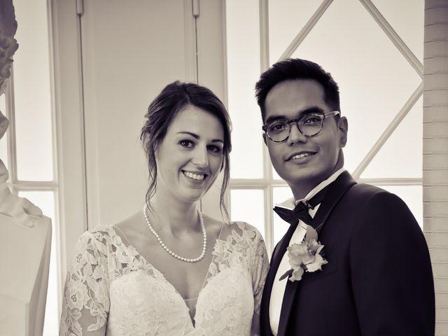 Le mariage de Ziyad et Clémence à Paris, Paris 35